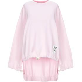 《セール開催中》GALLE Paris レディース スウェットシャツ ピンク 1 コットン 100%