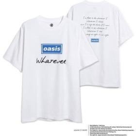 アダム エ ロペ オム/【OASIS×ADAM ET ROPE'】SONG LYRICS T-shirt 19SS/ホワイト系/M
