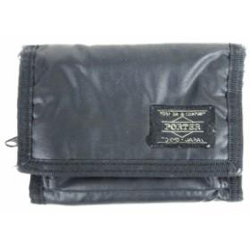 9f09f5579282 ポーター PORTER 財布 三つ折り ウォレット ナイロン 黒 ブラック メンズ