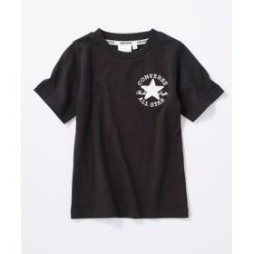 CONVERSE ロゴデザインTシャツ キッズ *ブラック