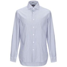 《期間限定セール開催中!》RODA メンズ シャツ ブルー 40 コットン 100%