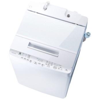 【基本設置料金セット】 東芝(TOSHIBA) 全自動洗濯機 AW-10SD8(W) グランホワイト 【お届け日時指定不可】
