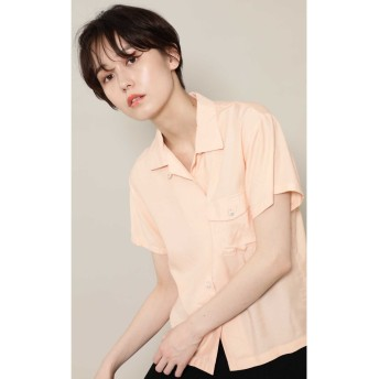 OPEN COLLARED SHIRTS ピンク