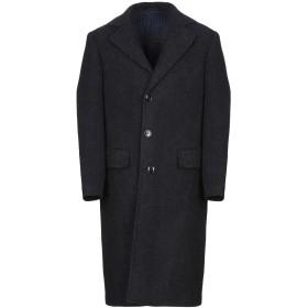 《期間限定 セール開催中》MP MASSIMO PIOMBO メンズ コート ダークブルー 46 毛(アルパカ) 90% / ナイロン 10%