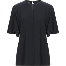 《セール開催中》VICTORIA, VICTORIA BECKHAM レディース T シャツ ブラック XS コットン 100%