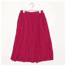 アメリカン ホリック AMERICAN HOLIC outlet ミディカットプリーツスカート (ピンク)