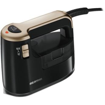 アイリスオーヤマ 衣類用スチーマー IRS-01 ブラックゴールド (1台)