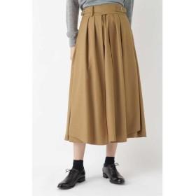 HUMAN WOMAN / ヒューマンウーマン OTOAA サキソニーフレアラップスカート