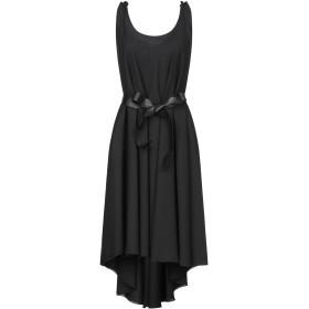《セール開催中》LANACAPRINA レディース ミニワンピース&ドレス ブラック 44 ポリエステル 100%