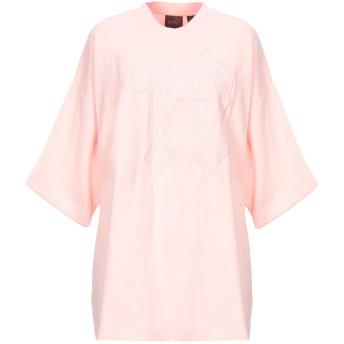 《期間限定セール開催中!》FENTY PUMA by RIHANNA レディース スウェットシャツ ピンク 8 コットン 91% / ナイロン 9%