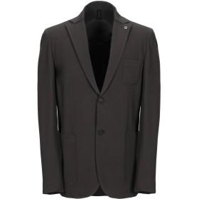 《セール開催中》HAMAKI-HO メンズ テーラードジャケット ミリタリーグリーン 46 レーヨン 65% / ナイロン 30% / ポリウレタン 5%