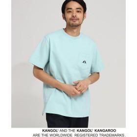 BASE CONTROL(ベースコントロール) ◆KANGOL カンゴール 別注 コラボ Tシャツ メンズ ポケット 半袖Tシャツ