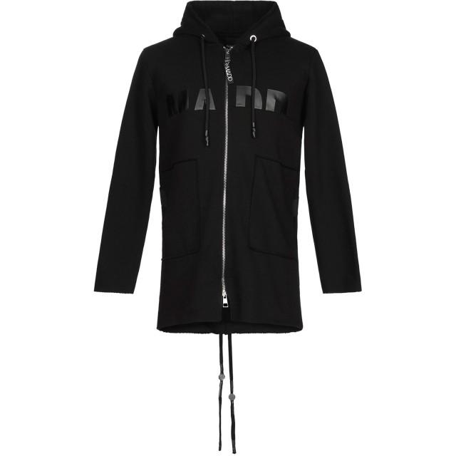 《期間限定セール開催中!》MADD メンズ スウェットシャツ ブラック L コットン 100%