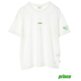 イーハイフンワールドギャラリー E hyphen world gallery prince ワンポイントTシャツ (Off White)