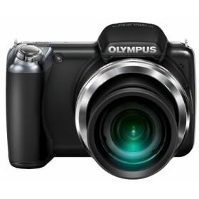 OLYMPUS デジタルカメラ SP-810UZ ブラック 1400万画素 光学36倍ズーム 3.0型ワイドLCD 広角28mm 3Dフォト機能 SP-810UZ BLK 中古品 アウ