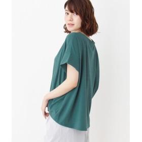 HusHusH(Ladies)(ハッシュアッシュ(レディース)) 裾タックプルオーバー