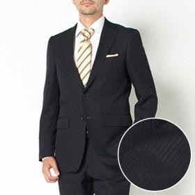 【ネット限定スーツ】レギュラーシャドーストライプ 2ボタンノータックスーツ(メンズ) コイアオ