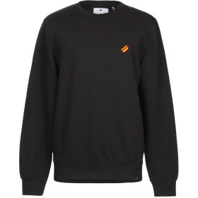 《期間限定セール開催中!》RVLT/REVOLUTION メンズ スウェットシャツ ブラック L コットン 100%