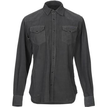 《セール開催中》(#) 65 メンズ シャツ 鉛色 48 コットン 95% / ポリウレタン 5%