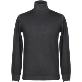 《期間限定セール開催中!》HOMEWARD CLOTHES メンズ タートルネック ブラック S ウール 100%