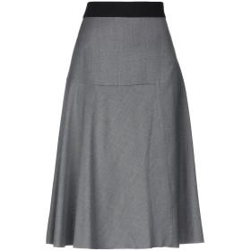 《セール開催中》LES COPAINS レディース 7分丈スカート グレー 40 ウール 100%