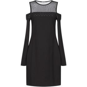 《セール開催中》LIU JO レディース ミニワンピース&ドレス ブラック S ポリエステル 95% / ポリウレタン 5%