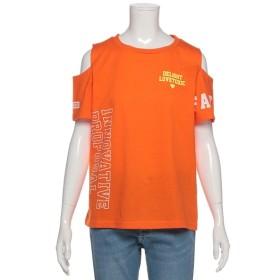 [マルイ]【セール】肩開きロゴ入りTシャツ/ラブトキシック(Lovetoxic)
