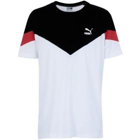 《セール開催中》PUMA メンズ T シャツ ホワイト S コットン 100% Iconic MCS Tee Puma