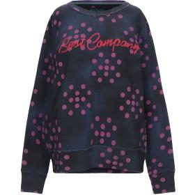 《期間限定セール開催中!》BEST COMPANY レディース スウェットシャツ ダークブルー XS コットン 100%