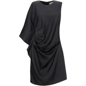 《期間限定セール開催中!》BY MALINA レディース ミニワンピース&ドレス ブラック S ポリエステル 100%