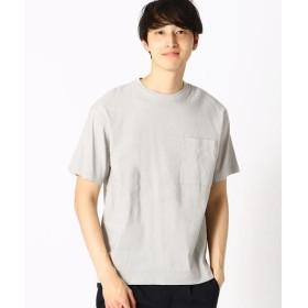 COMME CA ISM / コムサイズム リネン ハイパワーストレッチ Tシャツ