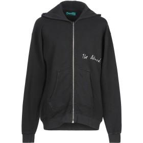 《期間限定セール開催中!》DANILO PAURA メンズ スウェットシャツ ブラック S コットン 70% / ポリエステル 30%