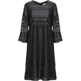 《セール開催中》L' AUTRE CHOSE レディース ミニワンピース&ドレス ブラック 38 ポリエステル 100%