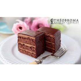 【送料込み】日本有数のチョコレート専門店「テオブロマ」のショコラティエ、土屋公二氏監修。口にいれるとしっとりなめらかに溶け出す濃厚なチョコレートケーキ《テオブロマ ケイクショコラ 2本セット》 食品・調味料 スイーツ・スナック菓子 ケーキ・洋菓子 au WALLET Market