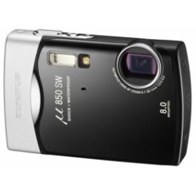 OLYMPUS デジタルカメラ μ850SW (ミュー) ピアノブラック μ850SWBLK 中古品 アウトレット