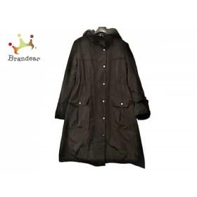 ユマコシノ YUMAKOSHINO コート サイズ40 M レディース 美品 黒 冬物 新着 20190515