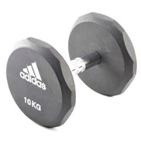 アディダス ラバーダンベル 20kg #ADWT-10324 ADIDAS 送料無料 スポーツ・アウトドア