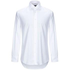 《期間限定セール開催中!》ZANETTI 1965 メンズ シャツ ホワイト 38 コットン 100%