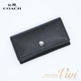 コーチファクトリー 財布 メンズ キーケース COACH 5連キーケース  F26100 LEATHER ラッピング無料 TCLD9052