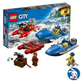 レゴ(LEGO)シティ 激流のボートチェイス [ レゴブロック ブロック おもちゃ 玩具 子供 子ども こども キッズ ブロック玩具 プラスチッ