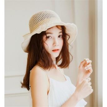 ★春夏新作★ バケットハット レディース 帽子 UVカット 女性用 折畳る 紫外線対策 日焼け