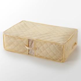 HOME COORDY 布団収納袋 ベージュ M(72×52×20cm) ホームコーディ M(72×52×20cm) 押入れ整理棚・圧縮袋
