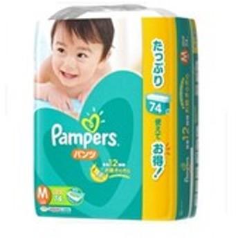 送料無料 【P&G】パンパース パンツ ウルトラジャンボ Mサイズ 74枚入り ベビー・キッズ用品