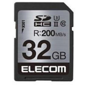5000円以上送料無料 エレコム UHS-/U3対応SDHCメモリカード MF-FS032GU23R AV・デジモノ:パソコン・周辺機器:USBメモリ・SDカード・メモ