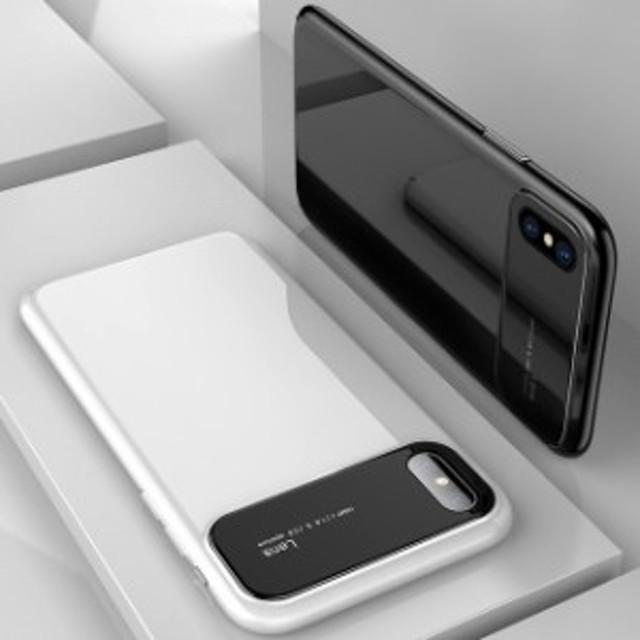 ★送料0★シンプル 薄型 鏡面 ガラス ケース 4色  iPhone6 iPhone7 iPhone7ケース iPhone8ケース iPhone X iPhoneケース