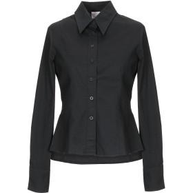 《期間限定セール開催中!》YES! MISS ROUVEAU STYLE ART レディース シャツ ブラック S コットン 96% / ポリウレタン 4%