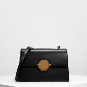 b83a7117e14f チェーンリンク クラシッククラッチ / Chain Link Classic Clutch (Black)