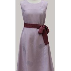 結婚式にも着られるKimonワンピース クラシックライン&バックのセット (着物リメイク)