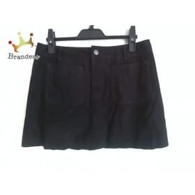 ディーゼル DIESEL ミニスカート サイズ28 L レディース 黒 パイソン柄   スペシャル特価 20190829