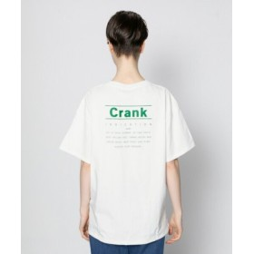 (SENSE OF PLACE/センスオブプレイス)バックロゴプリントTシャツ(半袖)/レディース OFFWHITE